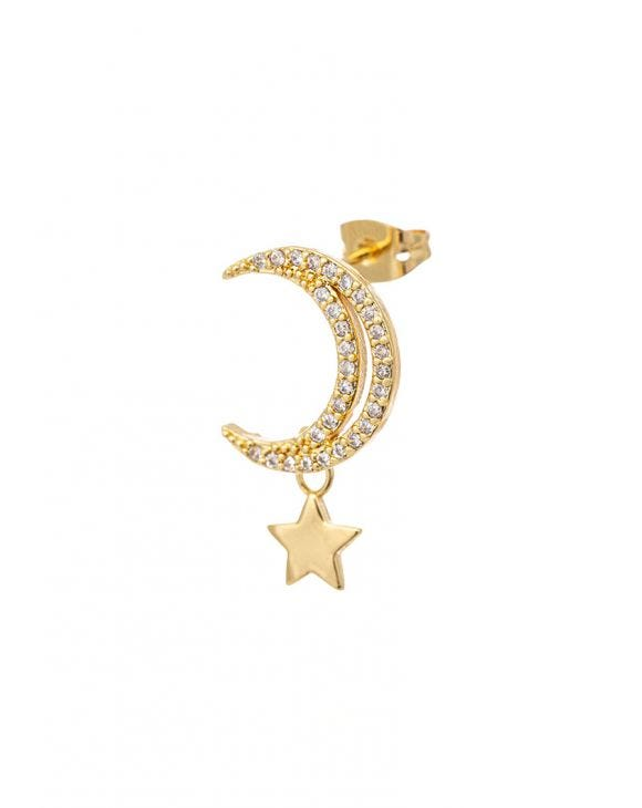 HILDA STAR EARRING IN GOLD