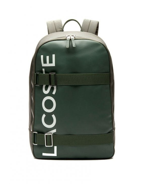 LACOSTE BACKPACK IN GREEN