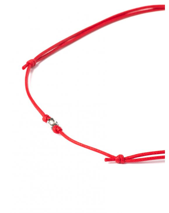 KAV NECKLACE IN RED
