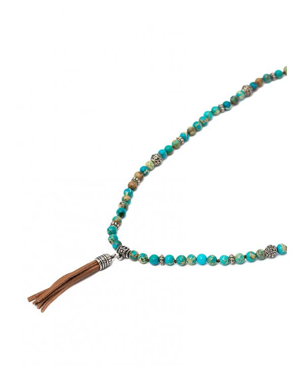 SALEH NECKLACE IN TURQUOISE