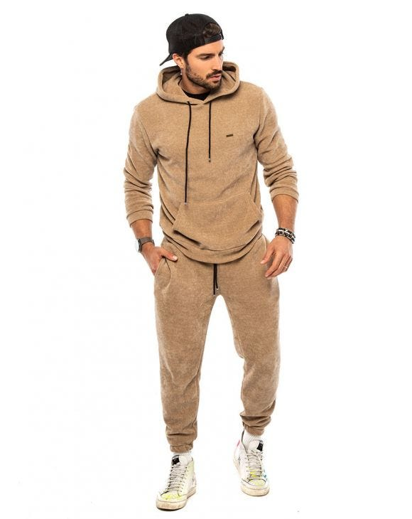 BUD TRACKSUIT IN CAMEL