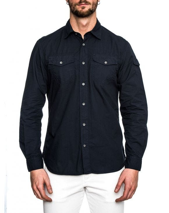 ALPINE NAVY WOOLRICH SHIRT