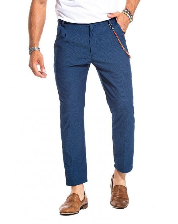 BALE CASUAL PANTS IN BLUE