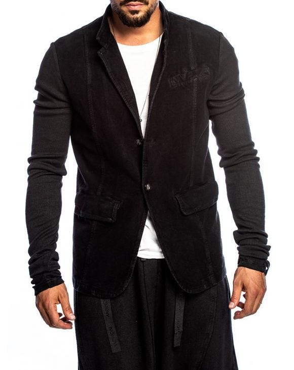 UBOUR JACKET IN BLACK