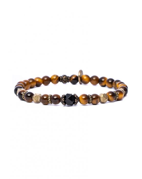 NITIN BRACELET IN BROWN