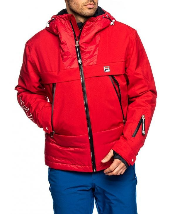 MEN SEIKO VESTE EN ROUGE