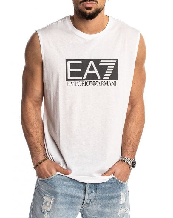 EA7 TANK IN WHITE