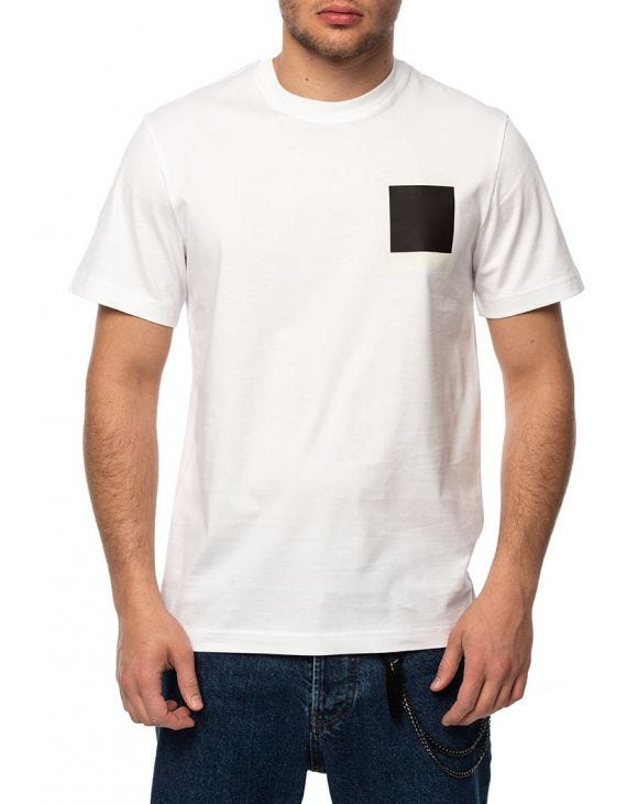 LACOSTE X POLAROID THERMOSENSITIVE BADGE T-SHIRT