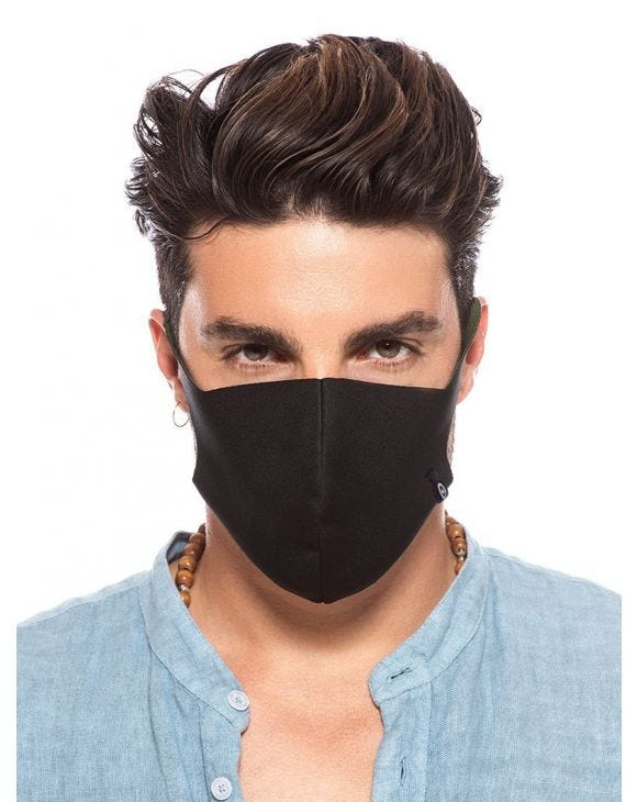 NOHOW FACE MASK IN BLACK PACK
