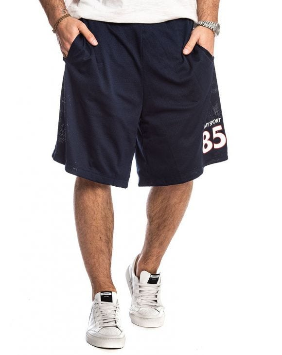 TOMMY SPORT SHORTS 237 IN MARINEBLAU