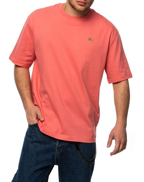 LACOSTE BASIC T-SHIRT IN PINK
