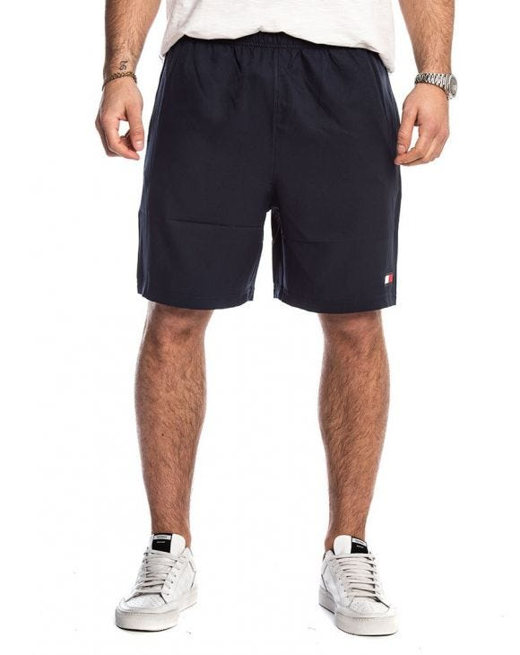 TOMMY SPORT SHORTS TAPING 72 IN MARINEBLAU