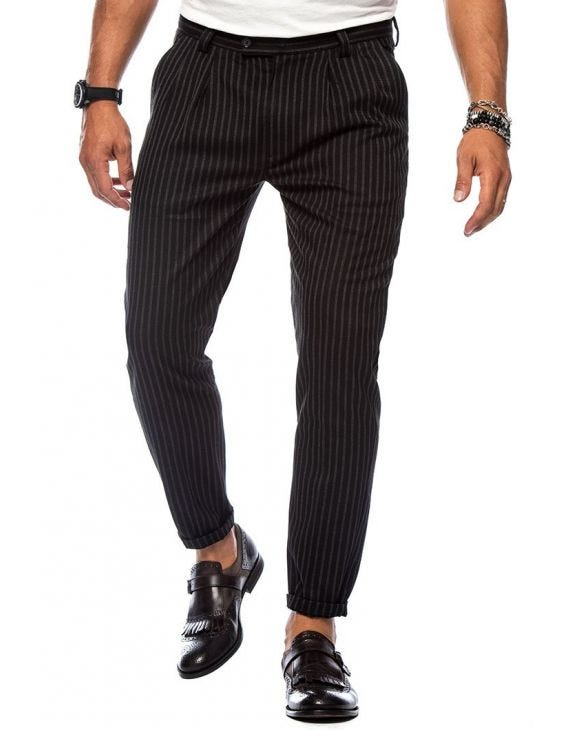 COLLAROY PINSTRIPE TROUSERS
