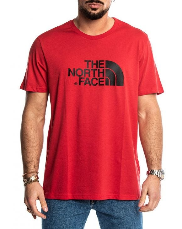 S/S EASY TEE IN RED