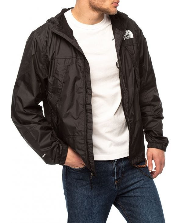 CYCLONE HOODED JACKET IN BLACK