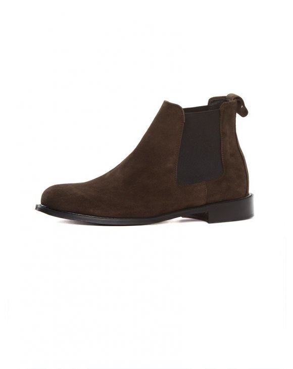 ITALY CHELSEA BOOTS IN BROWN 2.0