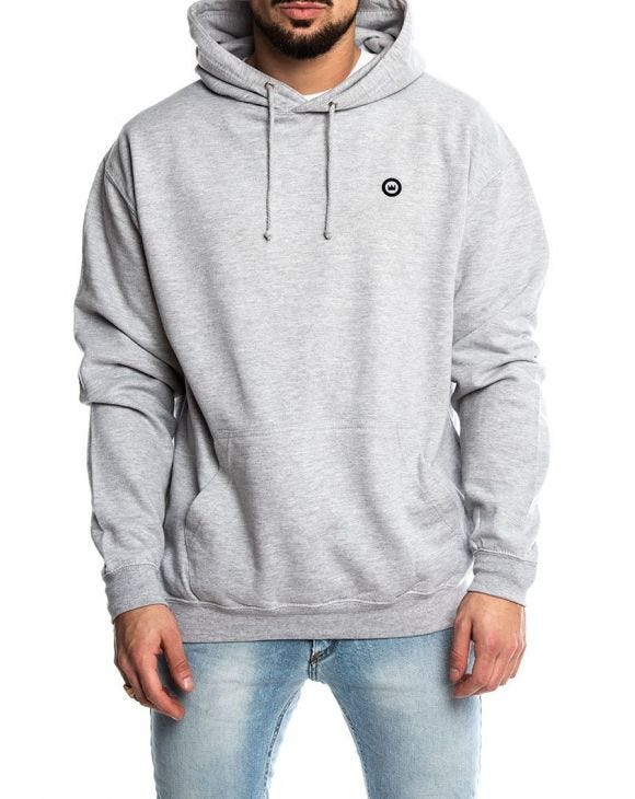 TO THE MOON SUDADERA GRIS