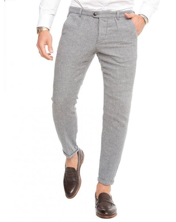 TOLUCA HOUNDSTOOTH TROUSERS