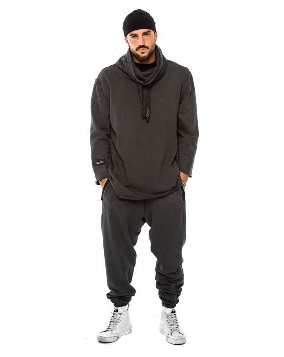 YAGU TRACKSUIT IN ANTHRACITE