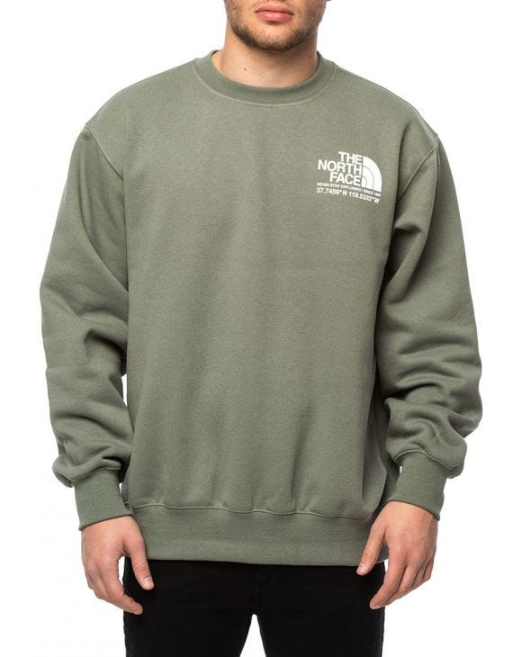 COORDINATES SWEATSHIRT IN GREEN