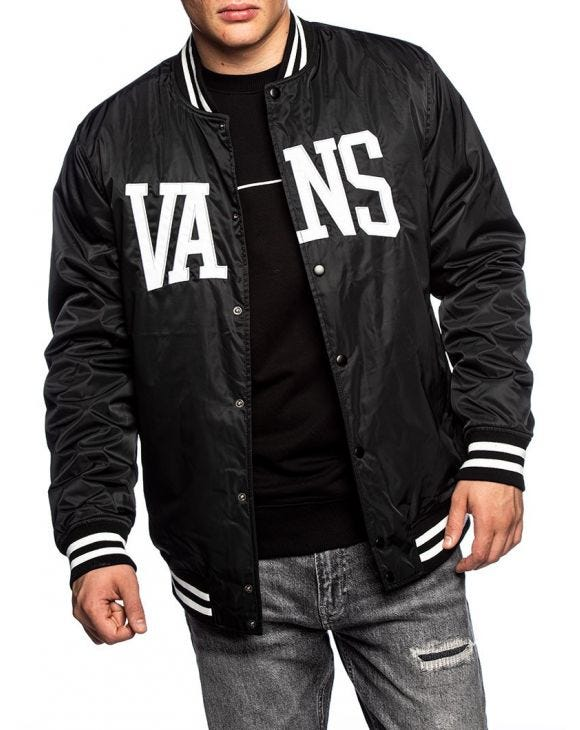 MN SVD UNIVERSITY JACKET IN BLACK
