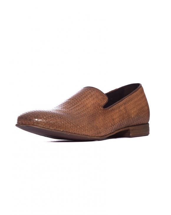 DIRK LOAFERS IN COGNAC