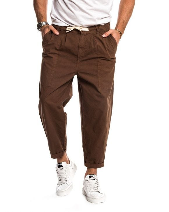 DUNGAREE PANTALON MARRON