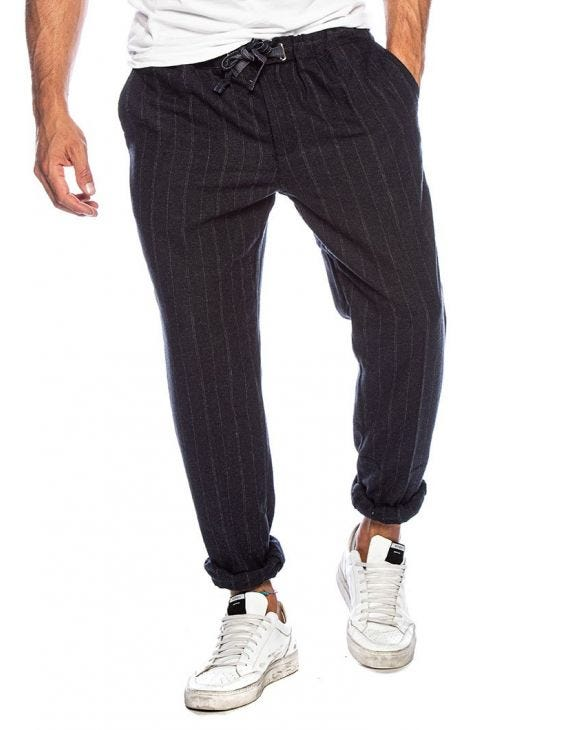 ALEC STRIPED PANTS IN BLUE