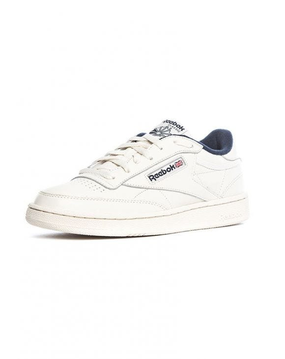 CLUB C 85 MU SNEAKERS IN WHITE