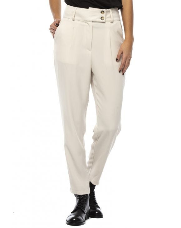 BONNIE FORMAL PANTS IN CREAM