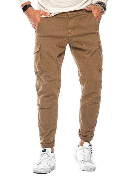 CRAIG CARGO PANTS IN CAMEL