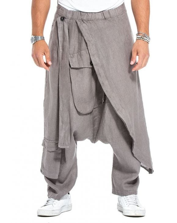 COLE CASUAL PANTS IN MUD