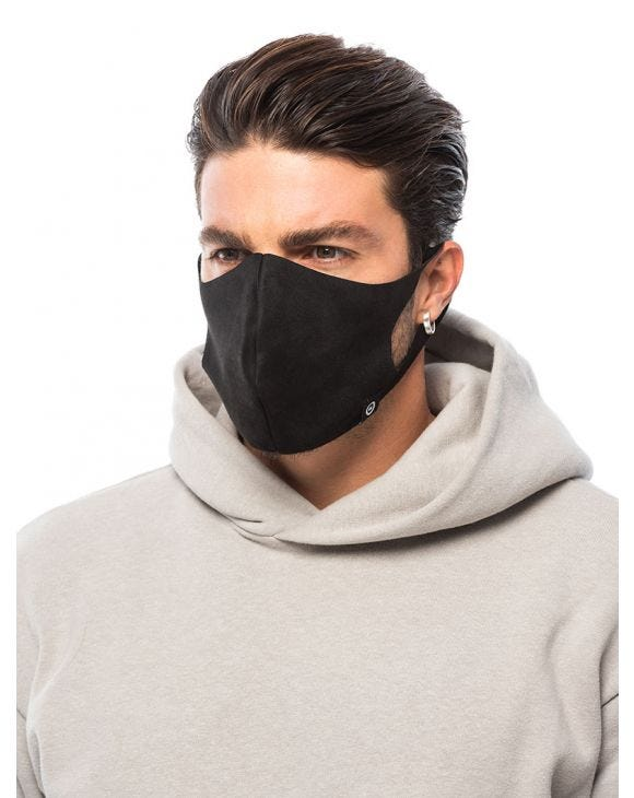 NOHOW FACE MASK IN BLACK