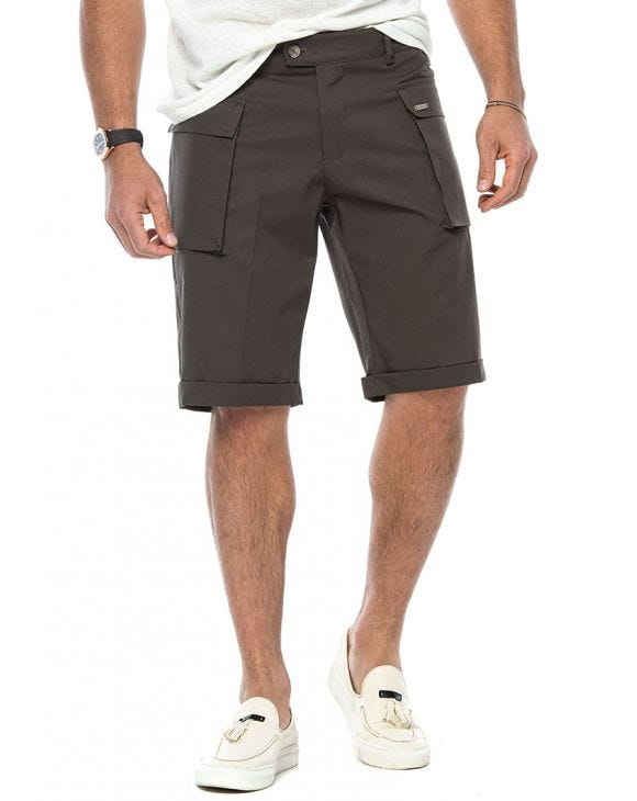NOAH CARGO SHORTS IN MUD