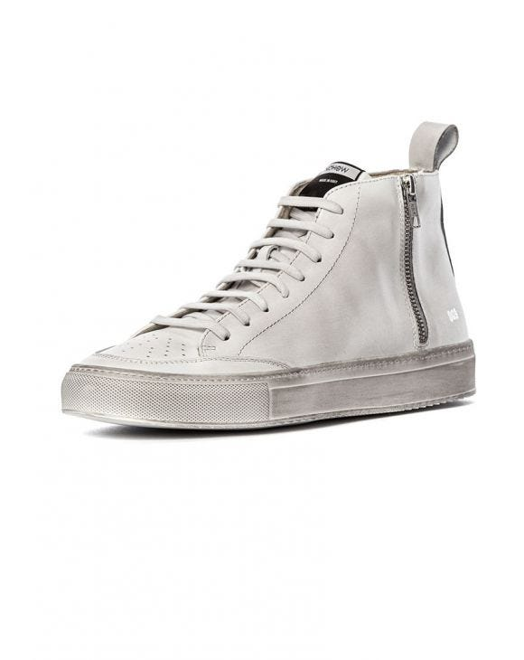 009 HIGH SNEAKERS IN WHITE