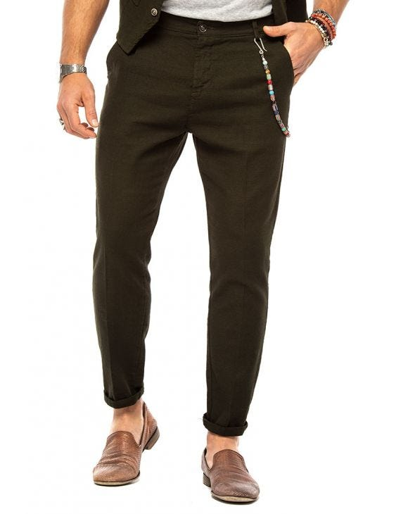 FRANK CASUAL PANTS IN GREEN