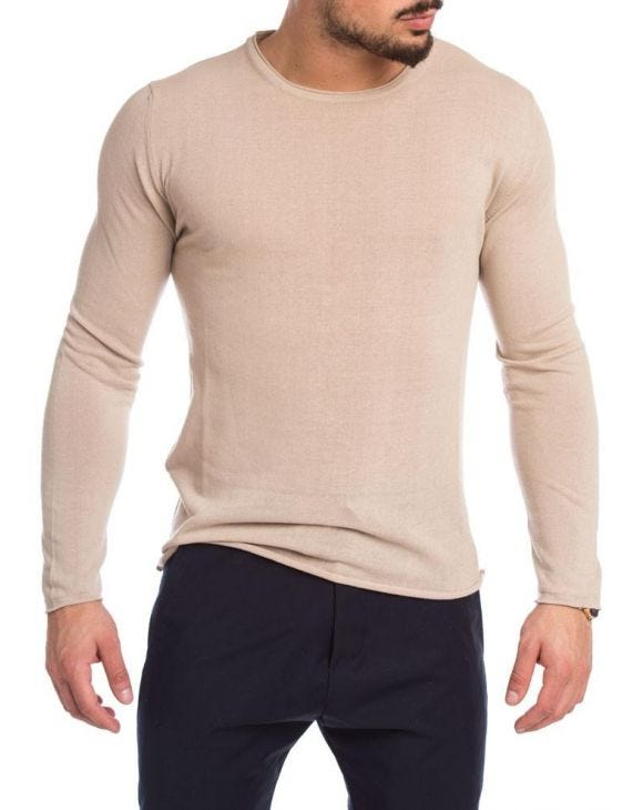 PULLOVER IN BEIGE