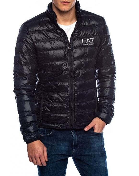 EA7 DOWN JACKET IN BLUE