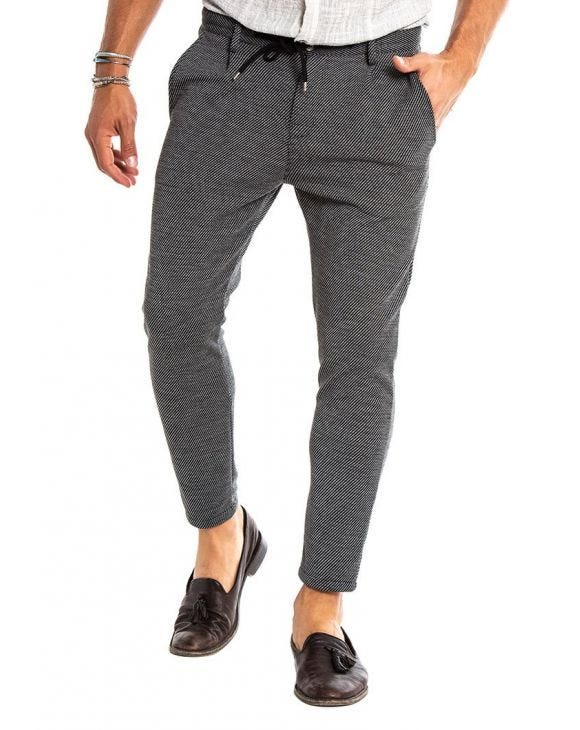 DAVE LINED PANTS IN GREY