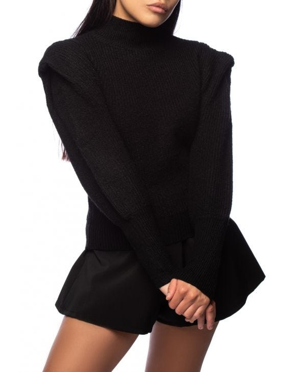 AMY SWEATER IN BLACK
