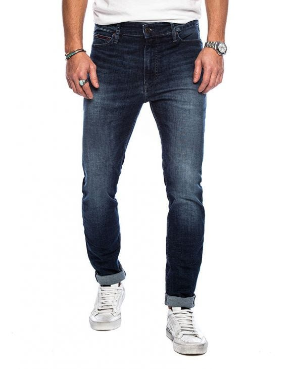SIMON SKINNY JEAN NSUDK IN BLAU DENIM