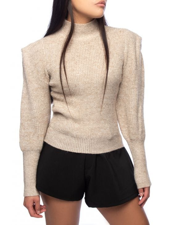 AMY SWEATER IN BEIGE