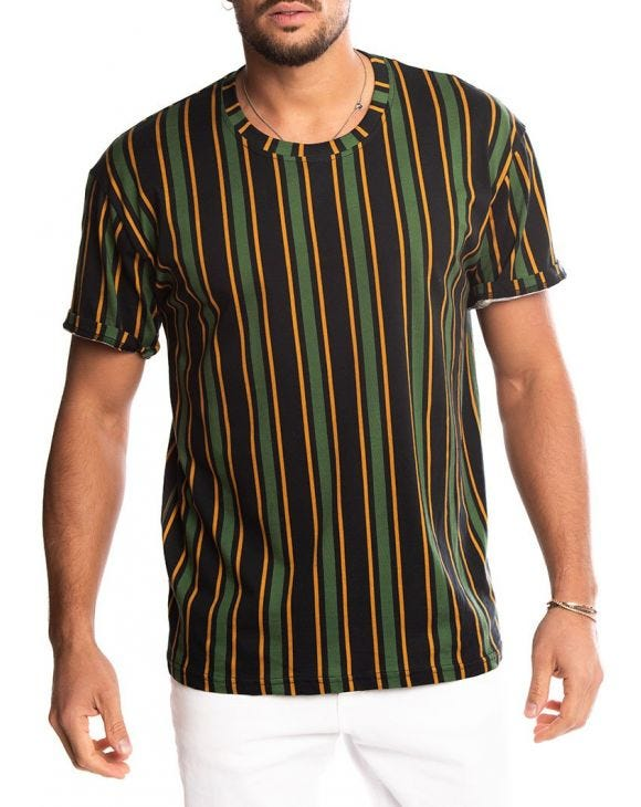 MANILA STRIPED T-SHIRT