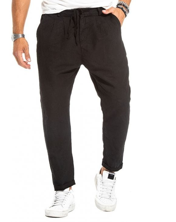 PACE CASUAL PANTS IN BLACK