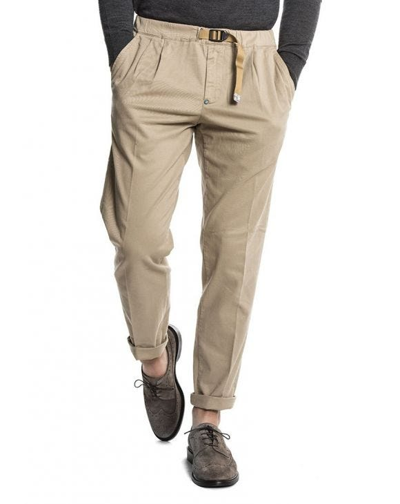 WHITE SAND 1206 CASUAL PANTS IN TORTOISE