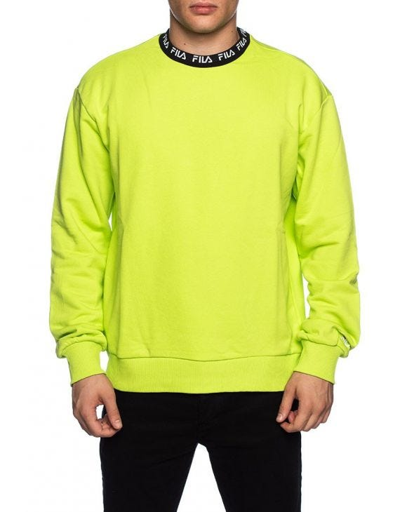 TOSHIRO PULLOVER IN LIME GREEN