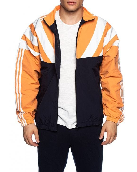BLNT 96 TT VESTE EN NOIR ORANGE