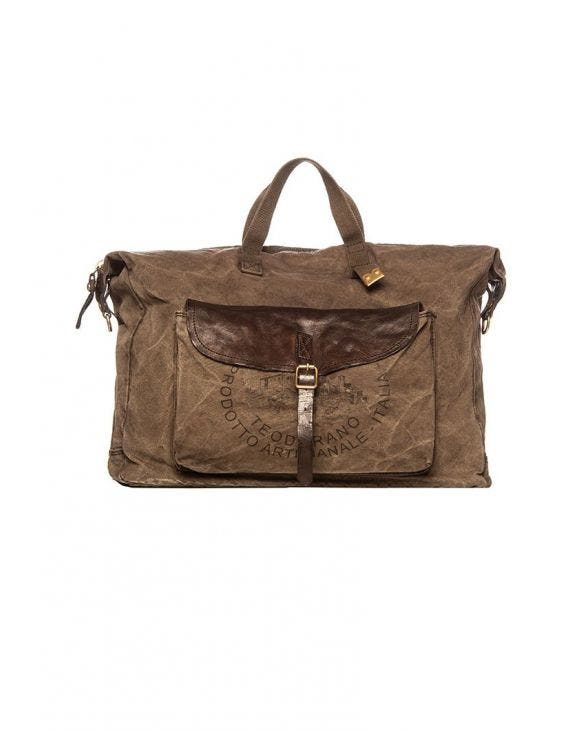C017 CARRY OVER BAG IN BROWN
