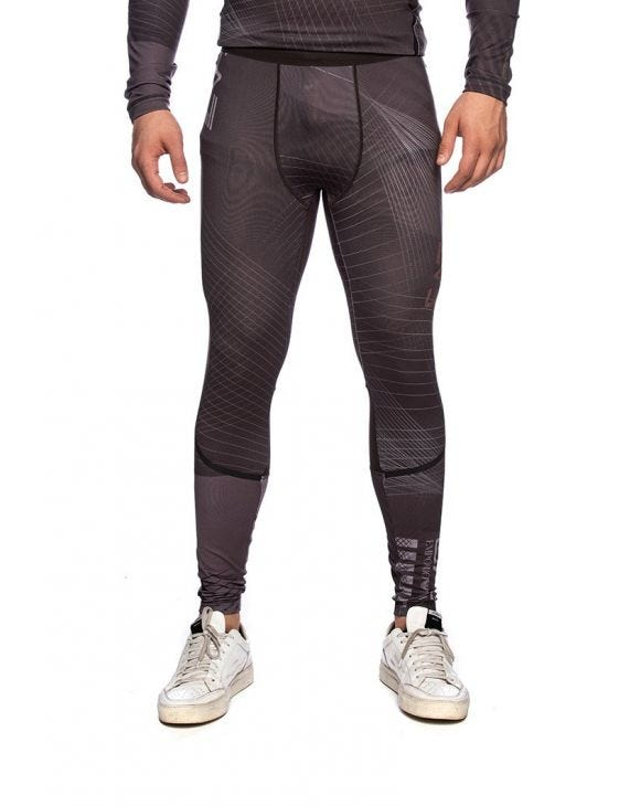 EA7 LEGGINS IN DARK GREY