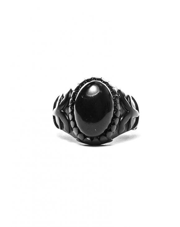 DROGON RING IN MATT SCHWARZ